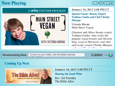 Logical Harmony Was on Main Street Vegan Radio!