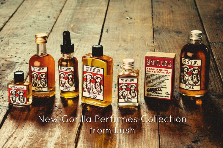 New Gorilla Perfumes Collection from Lush