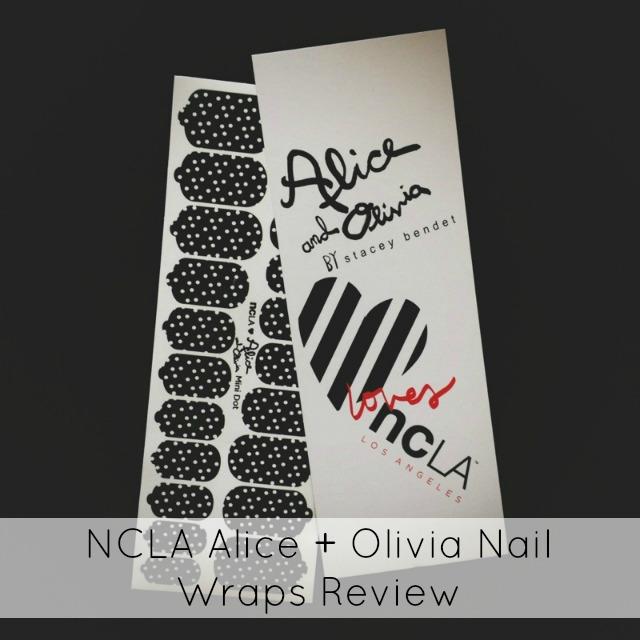 NCLA Alice + Olivia Nail Wraps Review