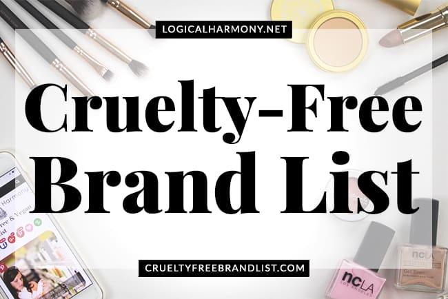 Cruelty-Free Brand List