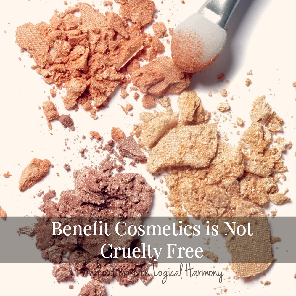 Benefit Cosmetics is Not Cruelty Free