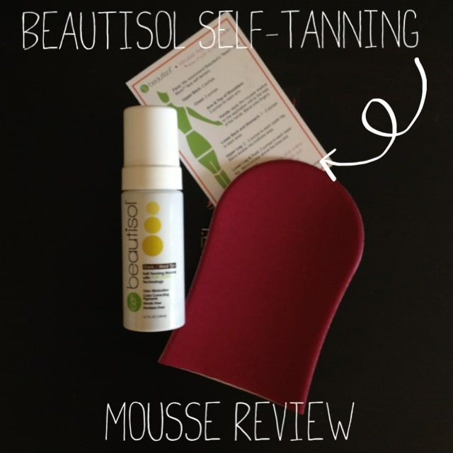 Beautisol Self-Tanning Mousse Review