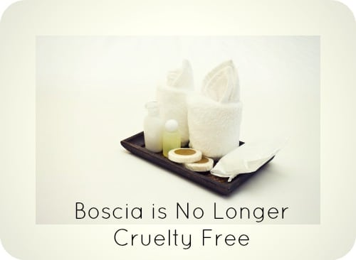 Boscia is No Longer Cruelty Free