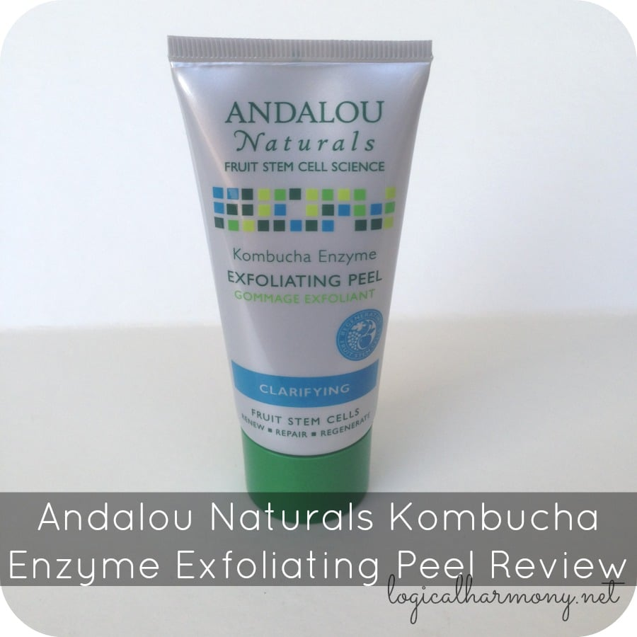 Andalou Naturals Kombucha Enzyme Exfoliating Peel Review