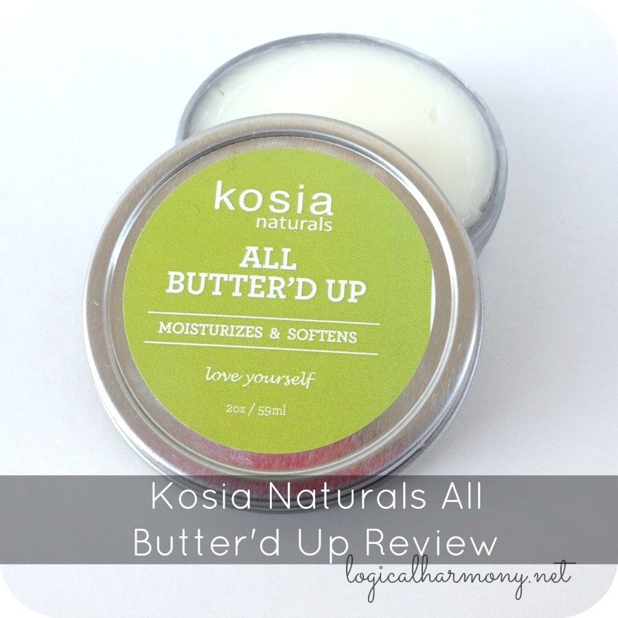 Kosia Naturals All Butter'd Up Review