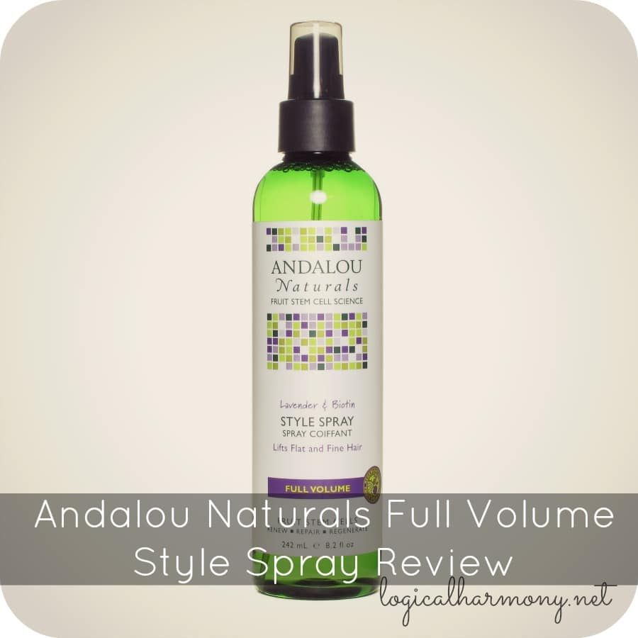 Andalou Naturals Full Volume Style Spray Review