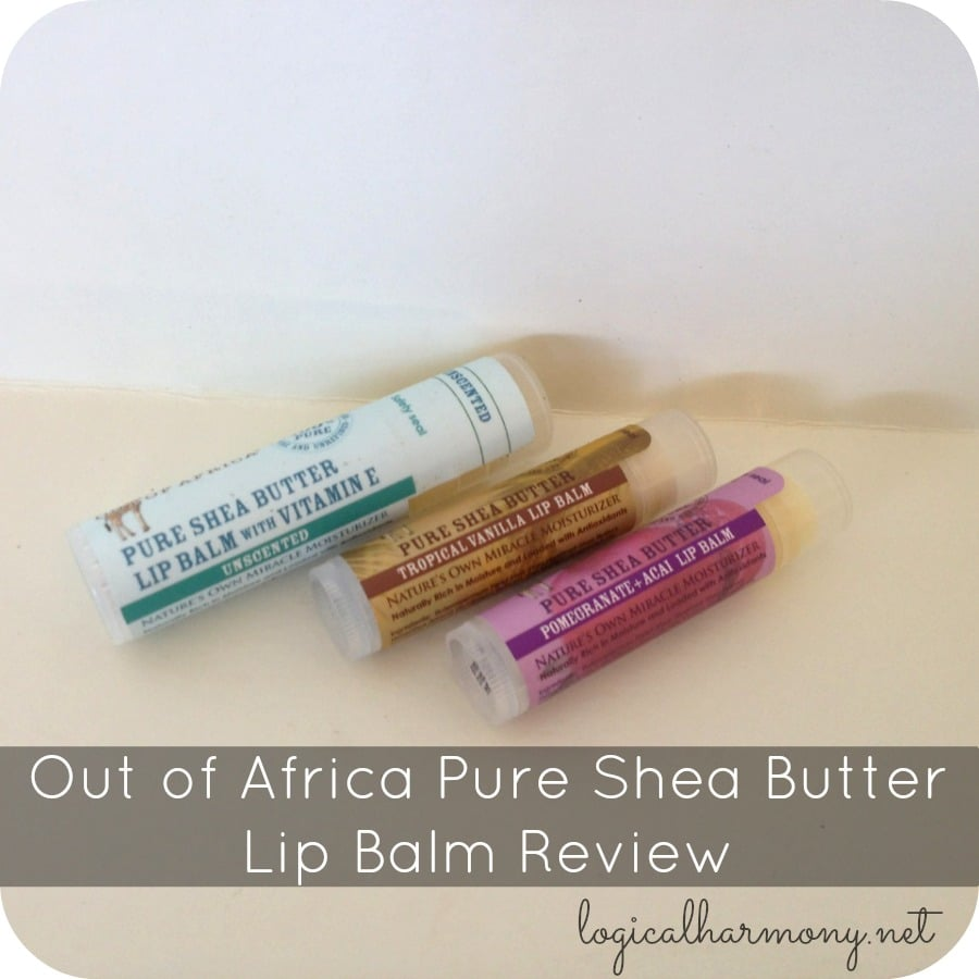 Out of Africa Pure Shea Butter Lip Balm Review
