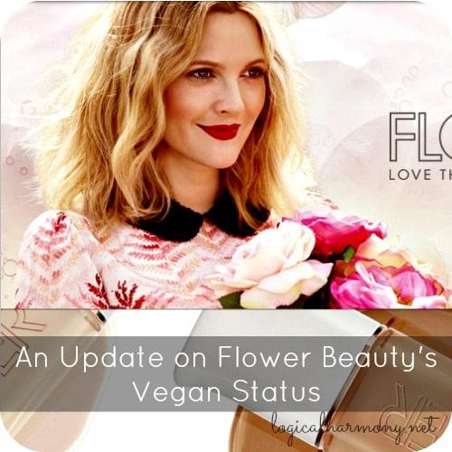 An Update on Flower Beauty's Vegan Status