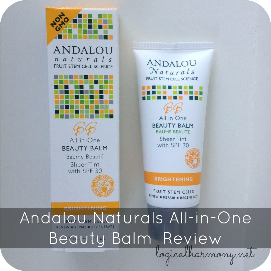 Andalou Naturals All-in-One Beauty Balm Sheer Tint Review