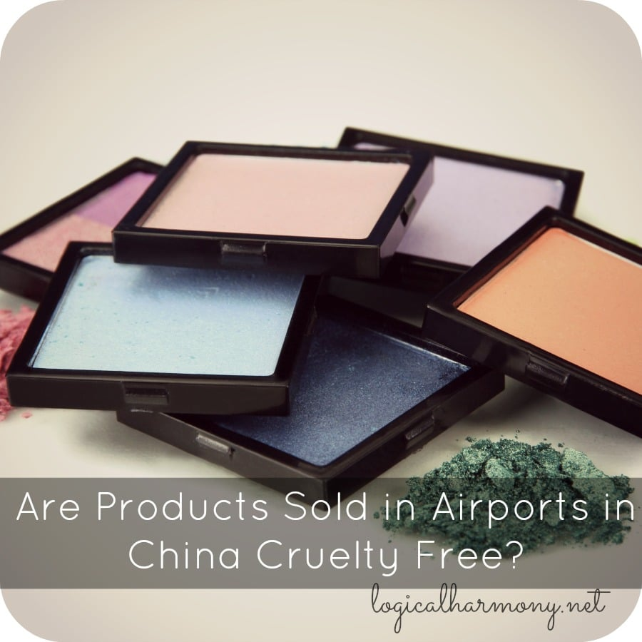 Are Products Sold in Airports in China Cruelty Free?