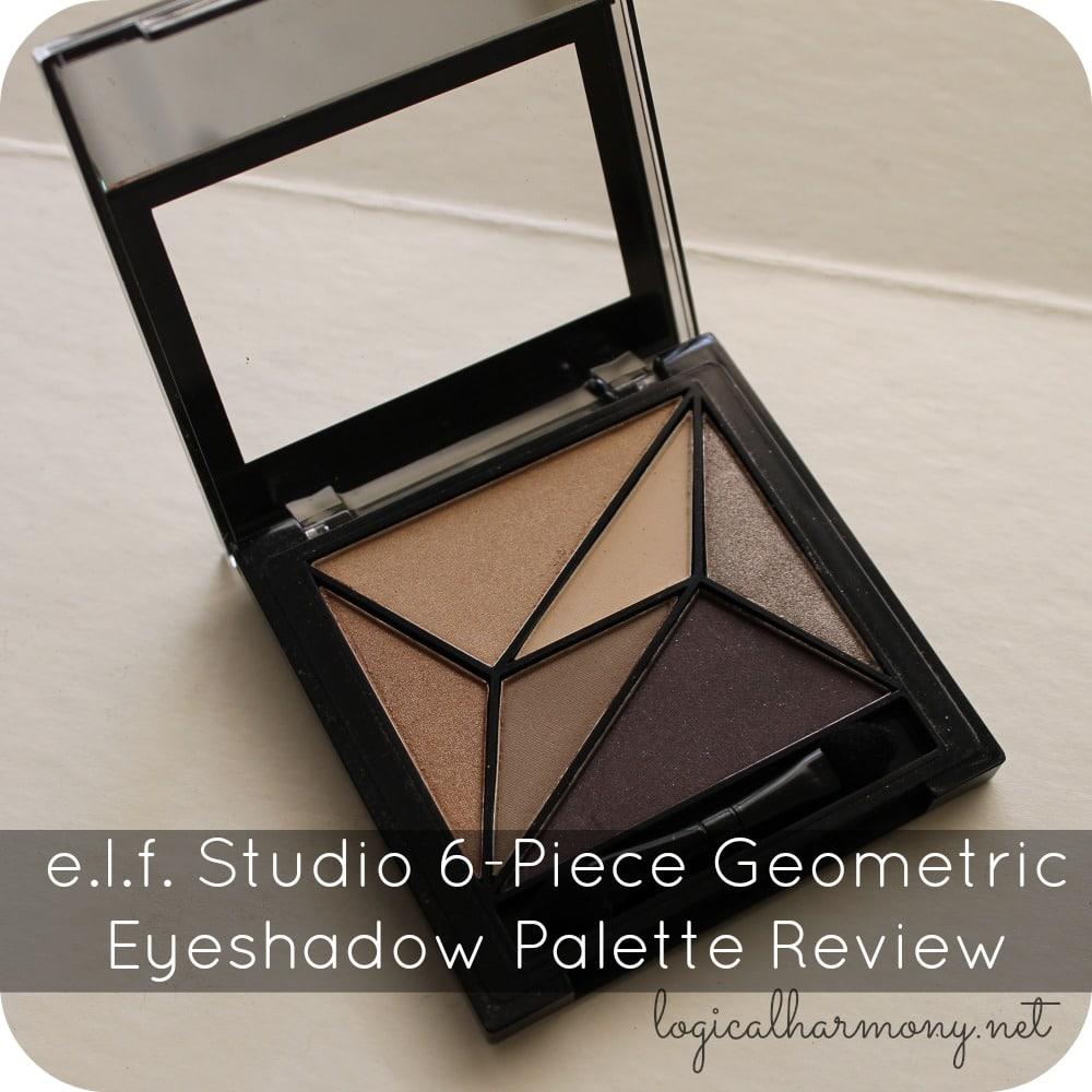 e.l.f. Studio 6-Piece Geometric Eyeshadow Palette Review