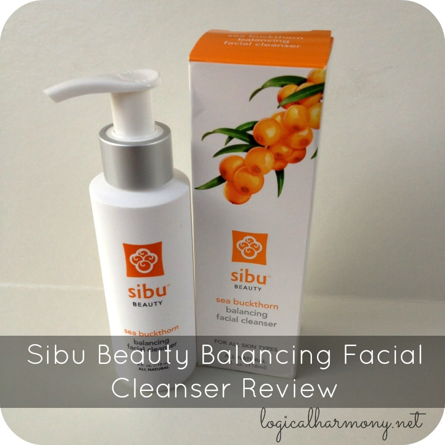 Sibu Beauty Balancing Facial Cleanser Review