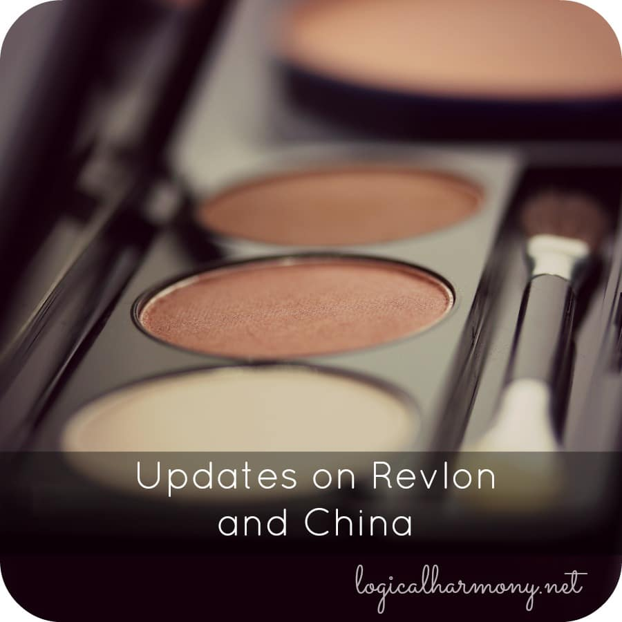 Updates on Revlon and China