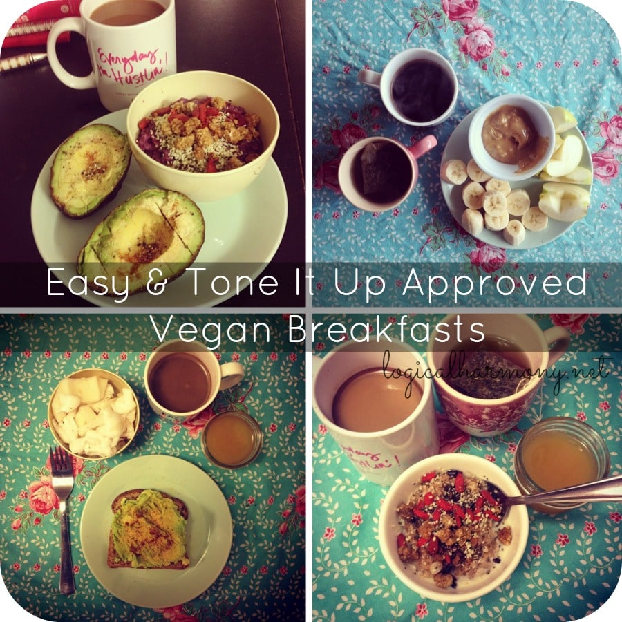 Easy & Tone It Up Approved Vegan Breakfasts