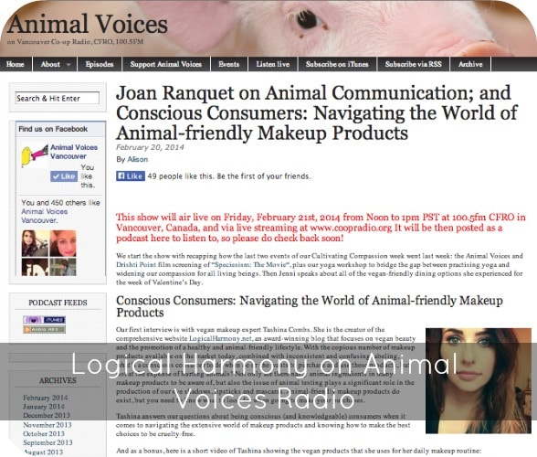 Logical Harmony on Animal Voices Radio
