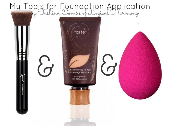Logical Harmony - My Tools for Foundation Application (all cruelty free and vegan!)