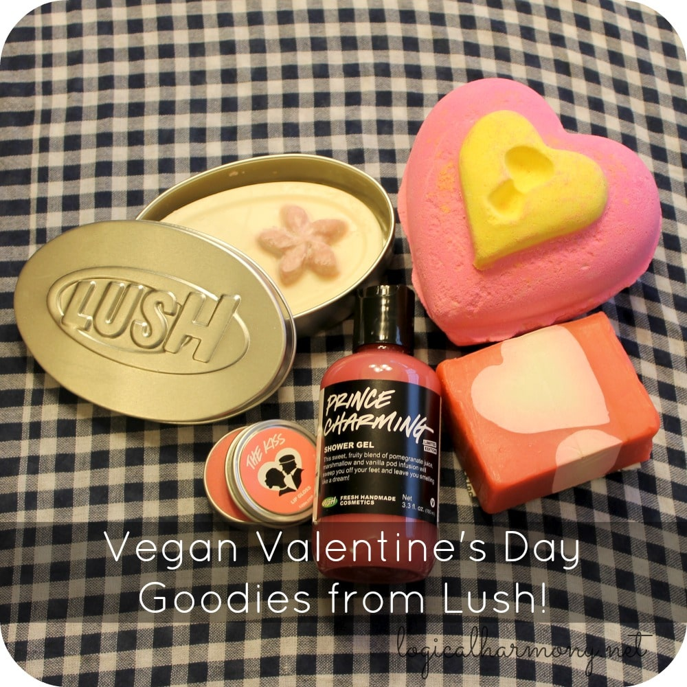 Vegan Valentine's Day Goodies from Lush