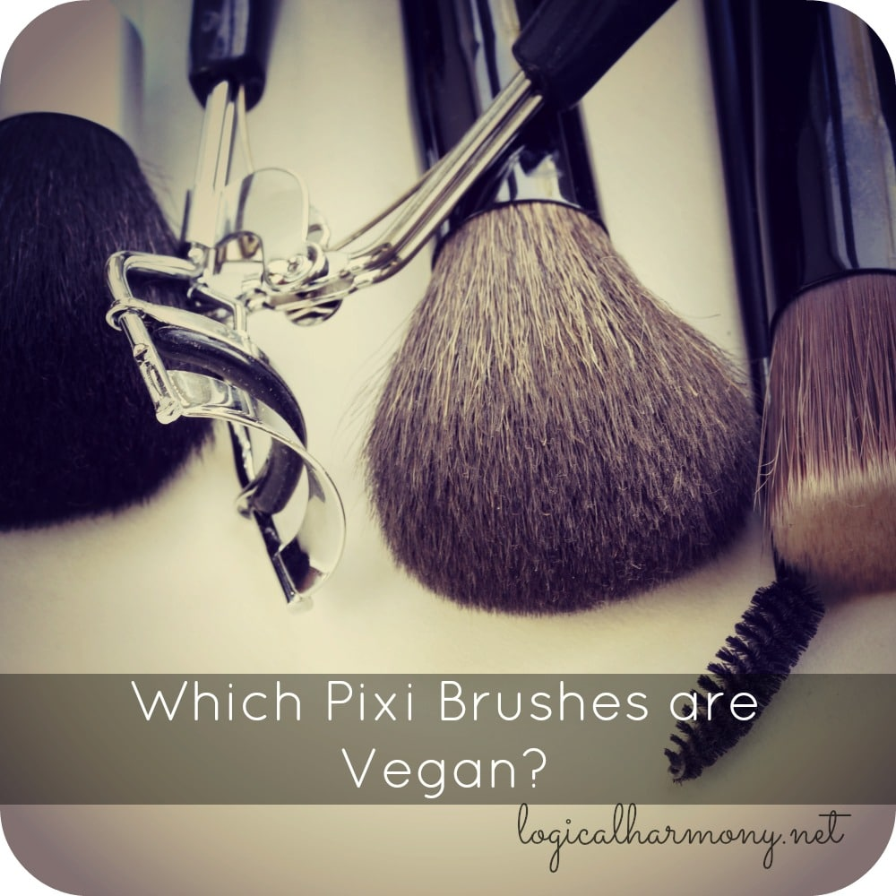 Which Pixi Brushes are Vegan?