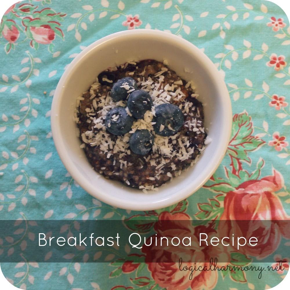 Breakfast Quinoa Recipe