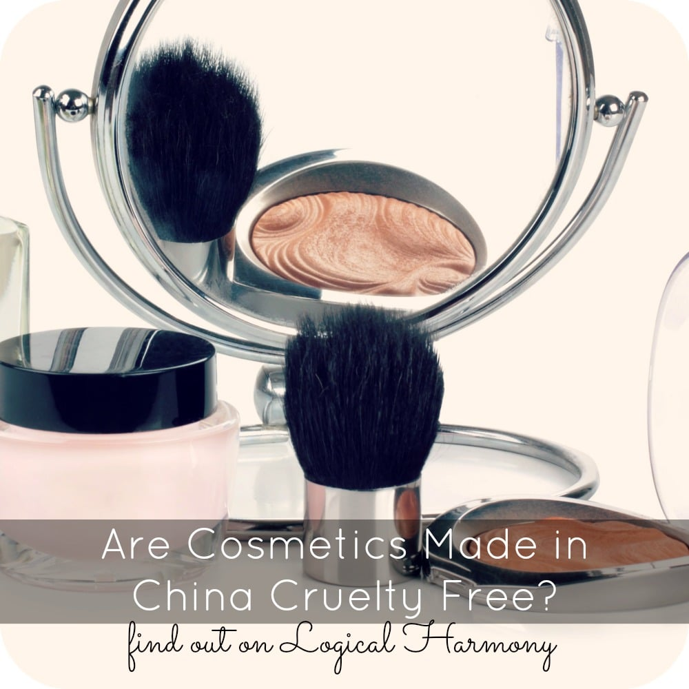 Are Cosmetics Made in China Cruelty Free?