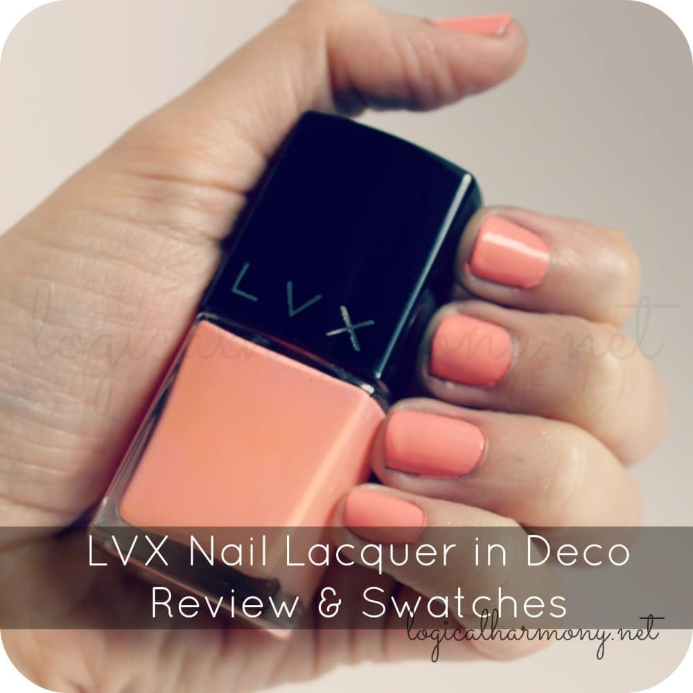 LVX Nail Lacquer in Deco Review & Swatches