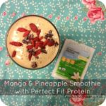 Mango & Pineapple Smoothie with Perfect Fit Protein