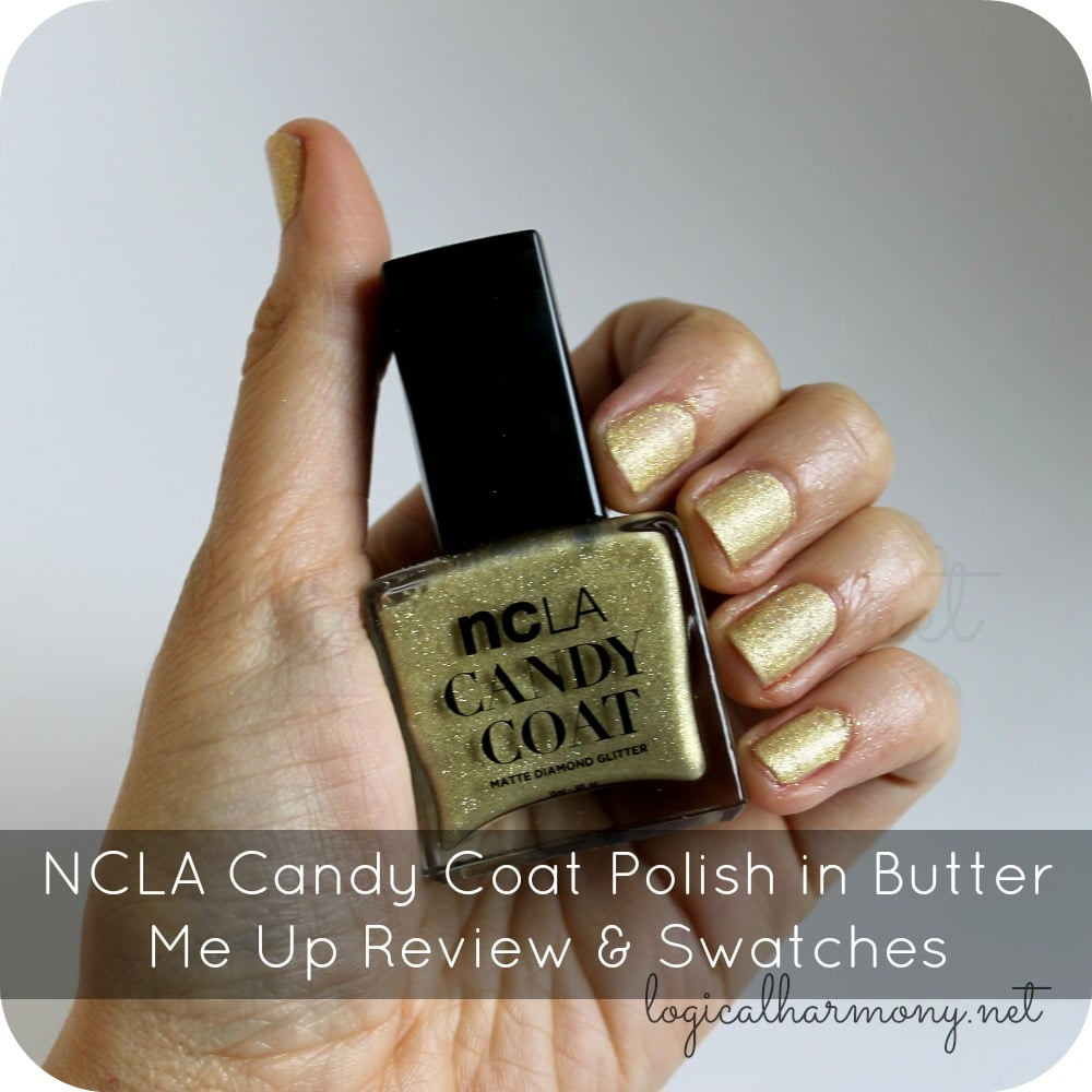 NCLA Candy Coat Polish in Butter Me Up Review & Swatches