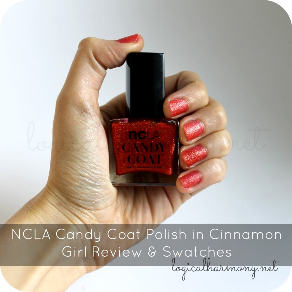 NCLA Candy Coat Polish in Cinnamon Girl Review & Swatches