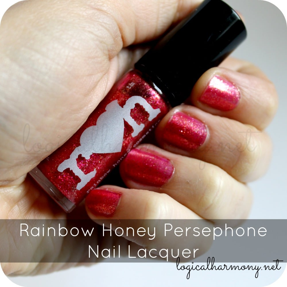 Rainbow Honey Persephone Nail Lacquer Swatches