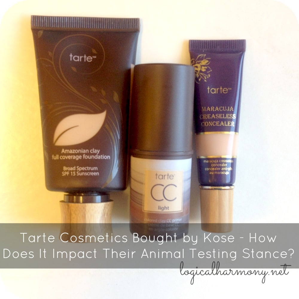 Tarte Cosmetics Bought by Kose - How Does It Impact Their Animal Testing Stance?