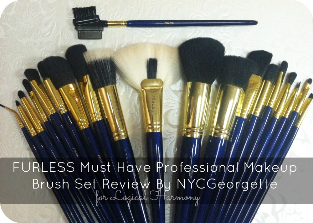 FURLESS Must Have Professional Makeup Brush Set Review By NYCGeorgette