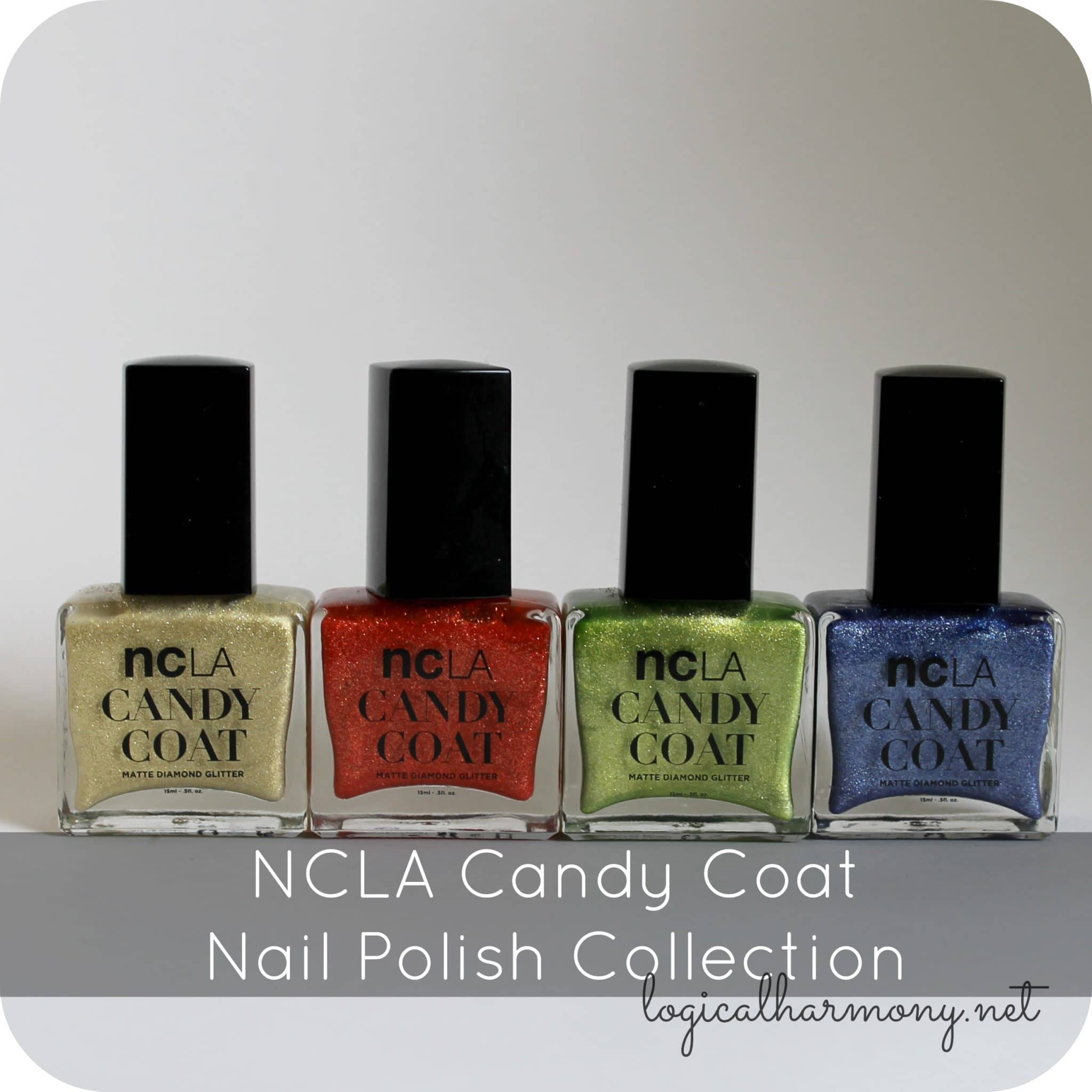 NCLA Candy Coat Nail Polish Collection