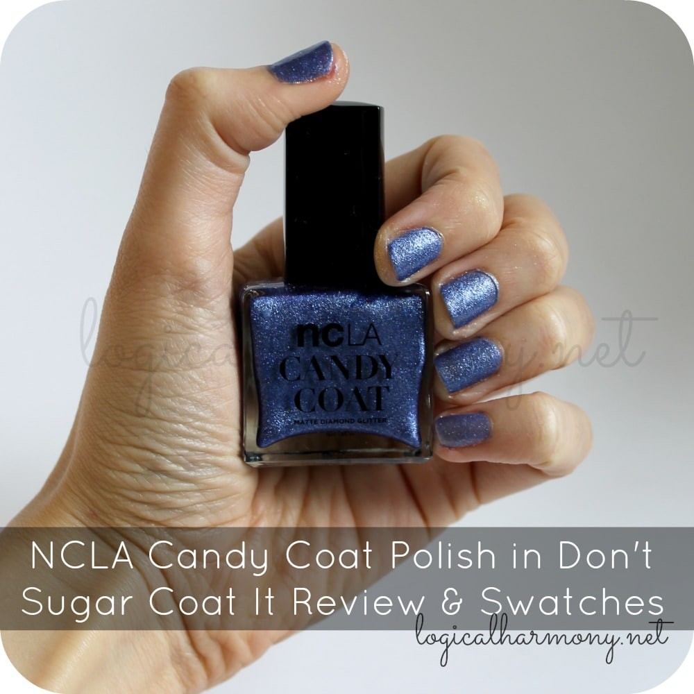 NCLA Candy Coat Polish in Don't Sugar Coat It Review & Swatches
