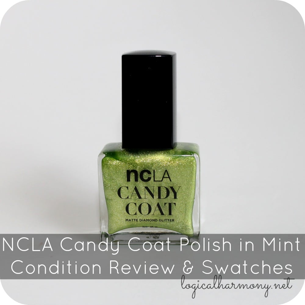 NCLA Candy Coat Polish in Mint Condition Review & Swatches