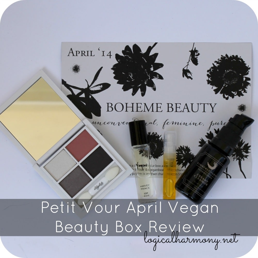 Petit Vour April Vegan Beauty Box Review