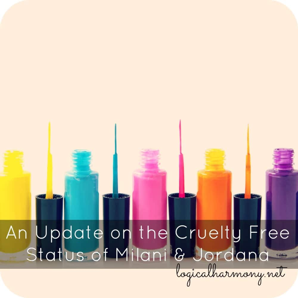 An Update on the Cruelty Free Status of Milani & Jordana