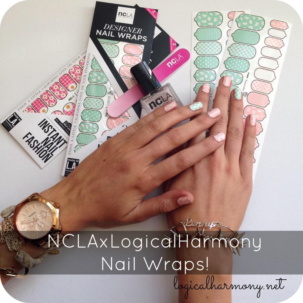 #NCLAxLogicalHarmony Nail Wraps!