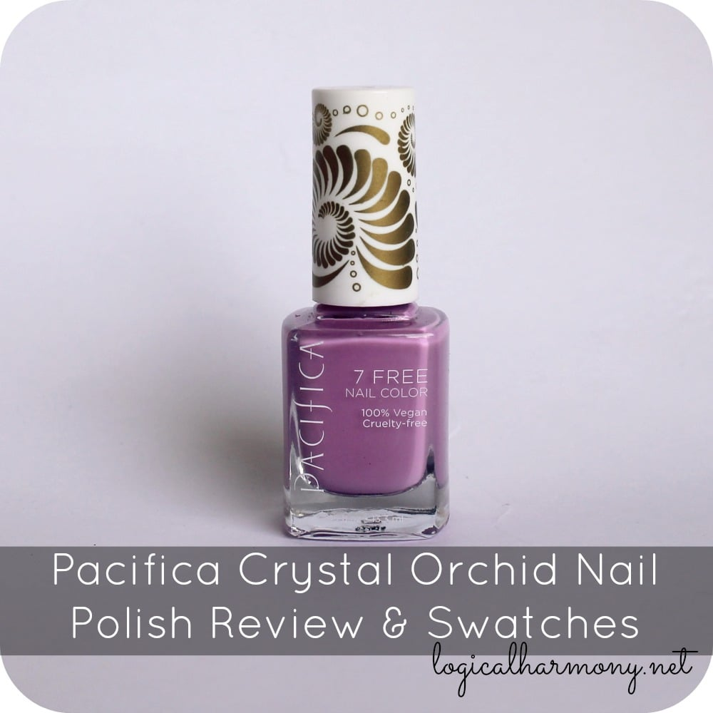 Pacifica Crystal Orchid Nail Polish Review Amp Swatches Logical Harmony