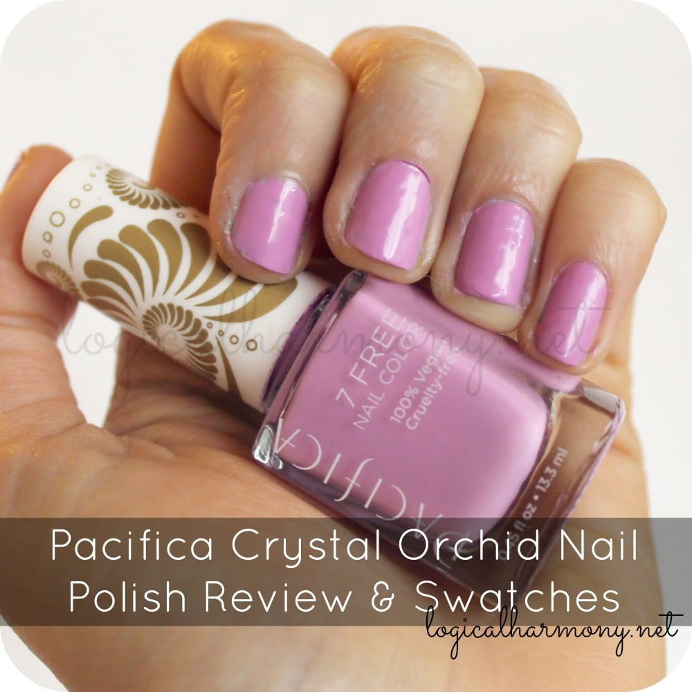 Pacifica Crystal Orchid Nail Polish Review & Swatches