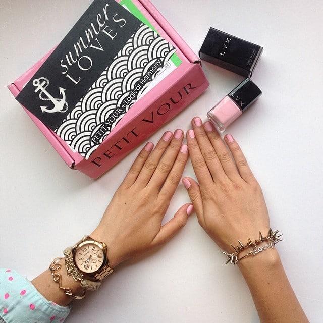 Sneak Peek of the July Petit Vour Beauty Box!