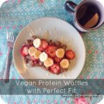 Vegan Protein Waffles with Perfect Fit