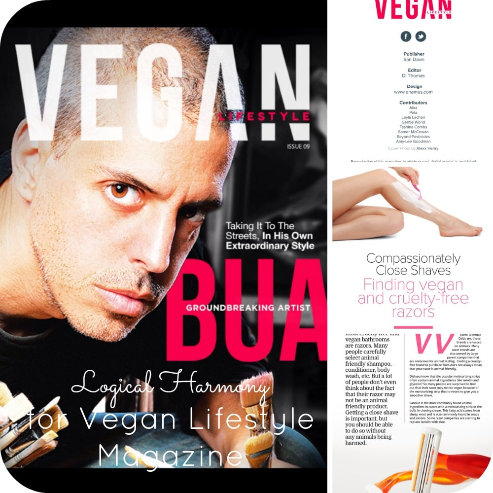 Logical Harmony for Vegan Lifestyle Magazine Issue No 9