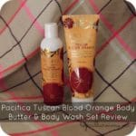 Pacifica Tuscan Blood Orange Body Butter & Body Wash Set Review