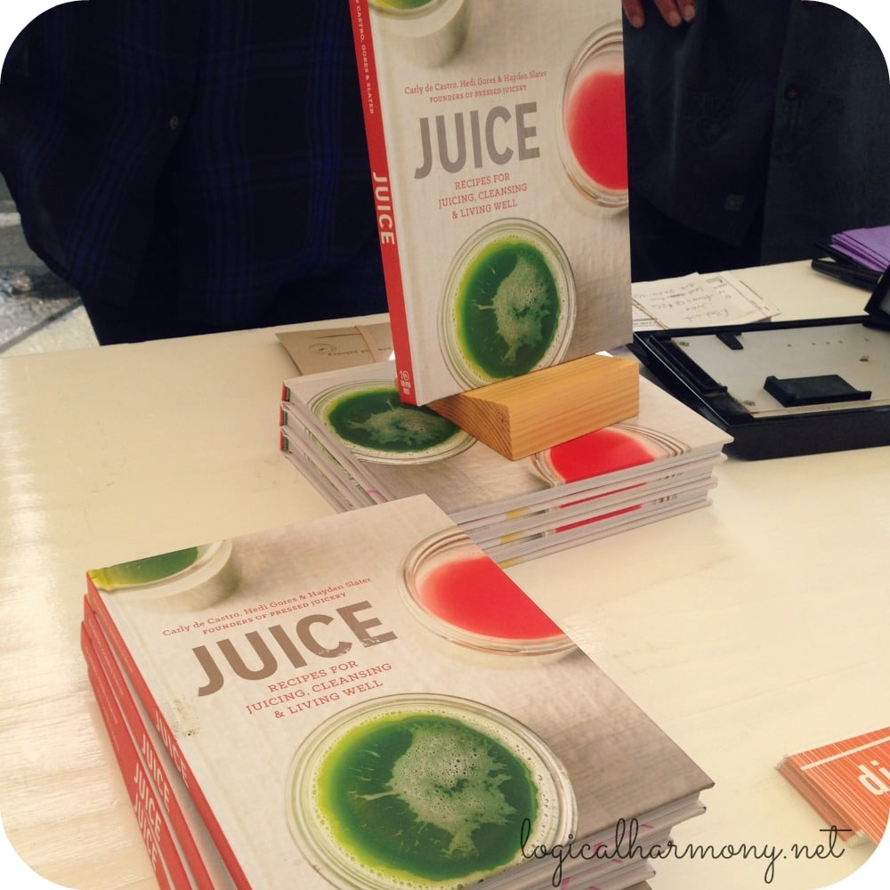 Pressed Juicery JUICE Book Launch