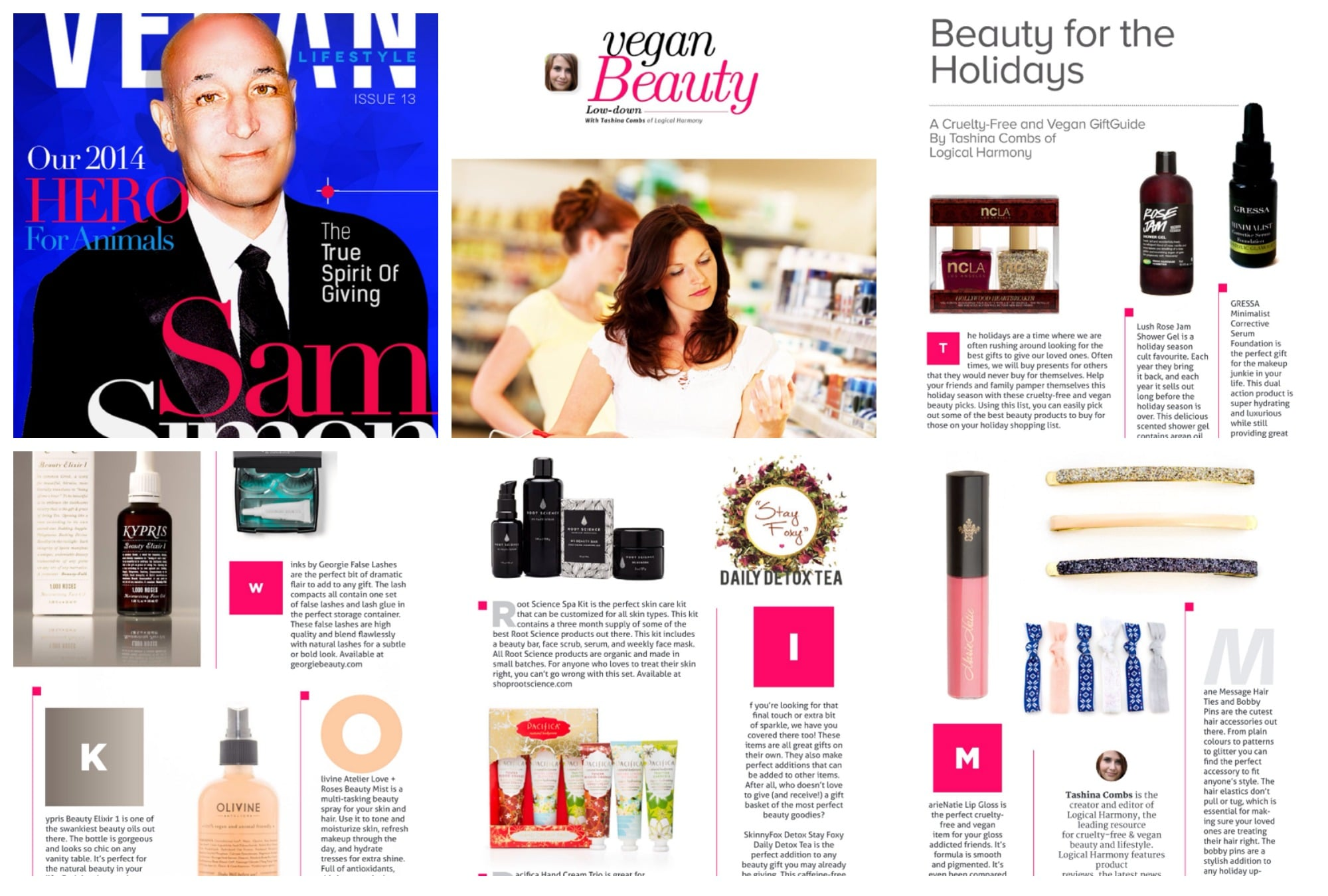Beauty for the Holidays - A Cruelty Free & Vegan Gift Guide in Vegan Lifestyle Magazine