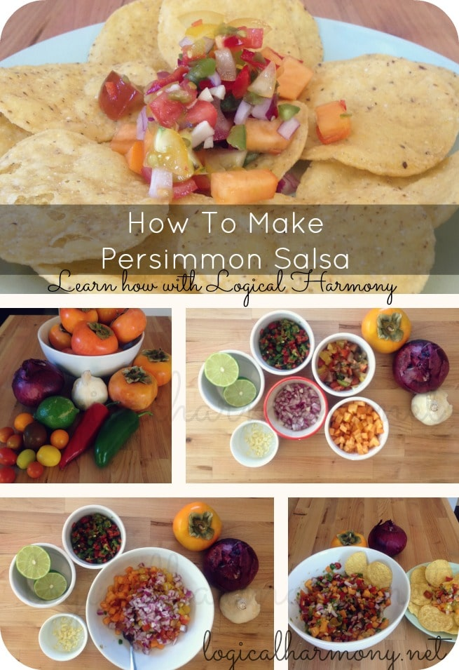 How to Make Persimmon Salsa