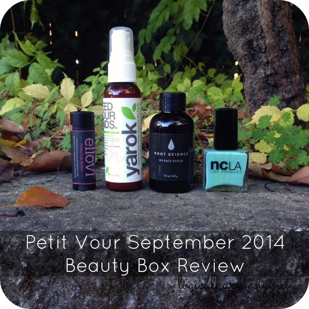 Petit Vour September 2014 Beauty Box Review