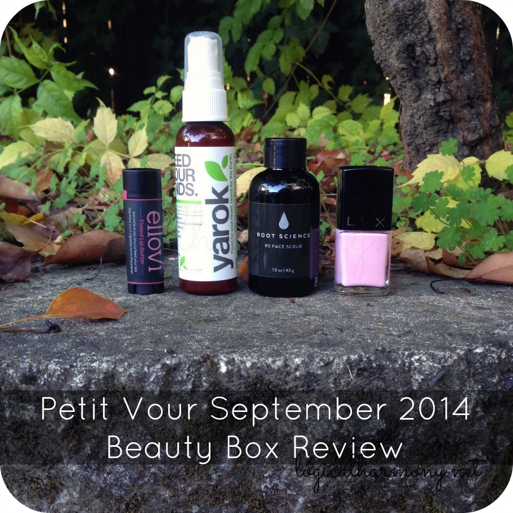Petit Vour September 2014 Beauty Box Review