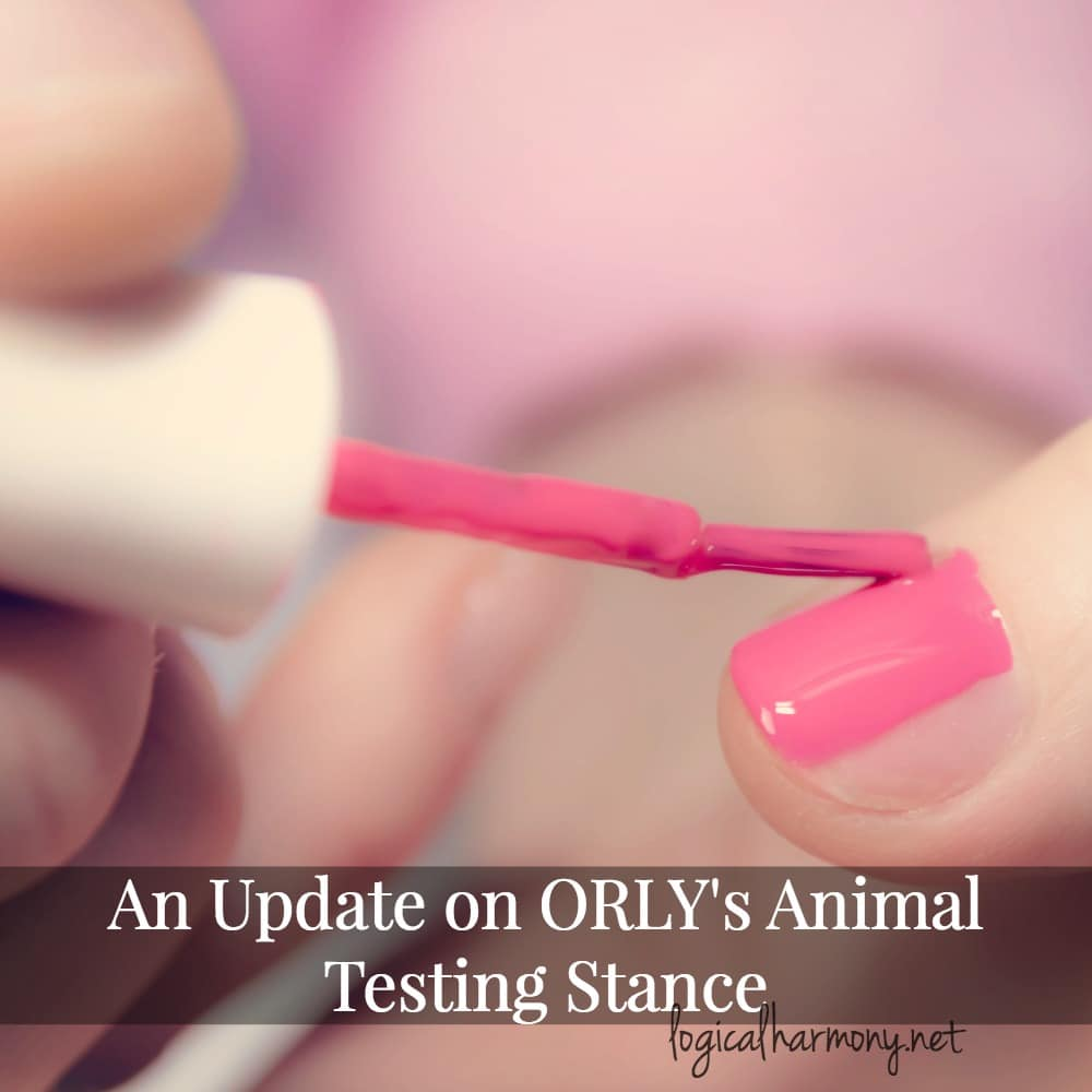 An Update on ORLY's Animal Testing Stance