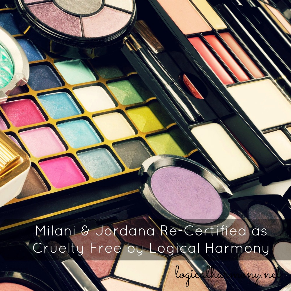 Milani & Jordana Re-Certified as Cruelty Free by Logical Harmony